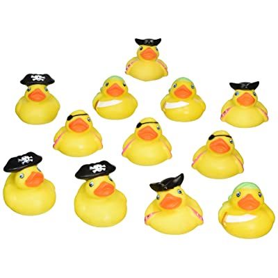 """2"""" PIRATE RUBBER DUCKIES: Toys & Games"""