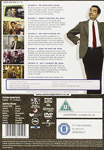 Mr bean series 1 volume 2 digitally remastered 20th anniversary mr bean series 1 volume 2 digitally remastered 20th anniversary edition dvd amazon rowan atkinson dvd blu ray solutioingenieria Image collections