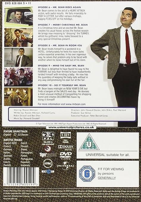 Mr bean series 1 volume 2 digitally remastered 20th anniversary mr bean series 1 volume 2 digitally remastered 20th anniversary edition dvd amazon rowan atkinson dvd blu ray solutioingenieria Images