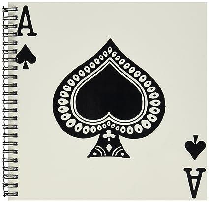 spade card drawing  Amazon.com: 7dRose db_7_7 Ace of Spades Playing Card ...