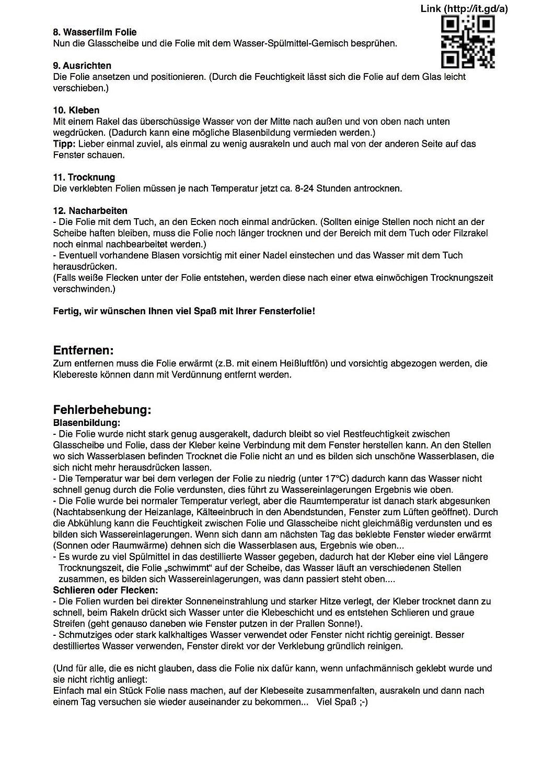 76 x 300 cm Lönartz Universal Spiegelfolie Sonnenschutzfolie