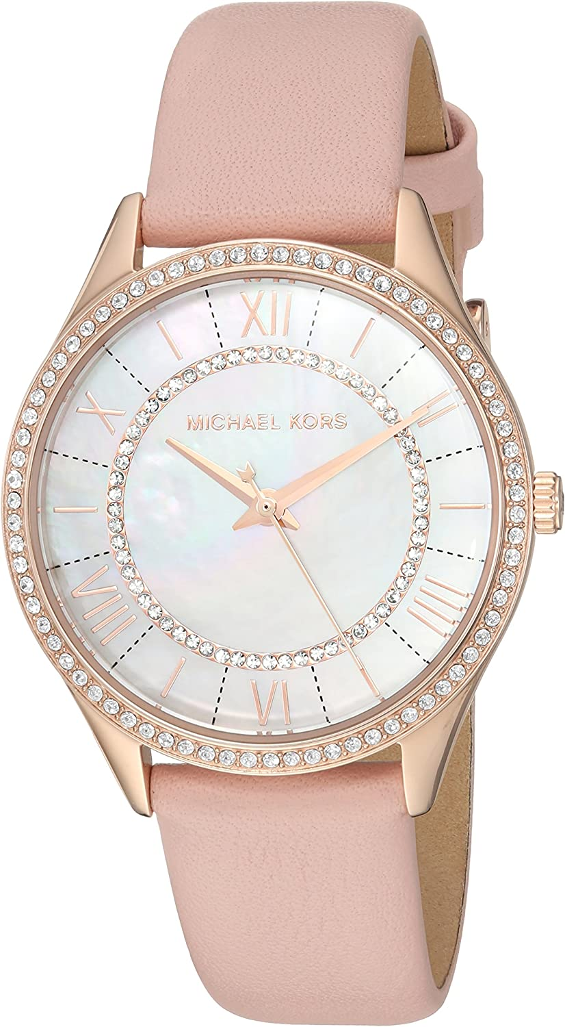 Michael Kors Women s Lauryn Three Hand Quartz Movement Watch