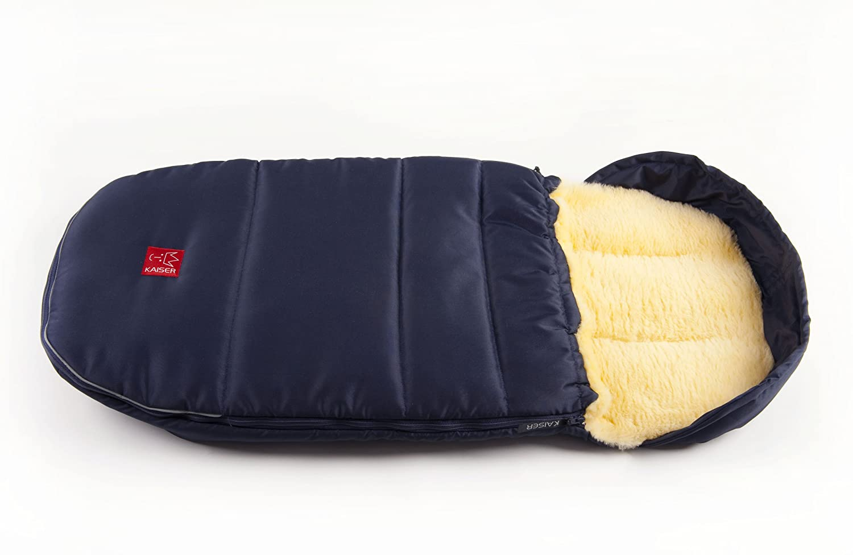 Kaiser 6720536 Lenny - Saco de dormir de lana de oveja superligero marine: Amazon.es: Bebé