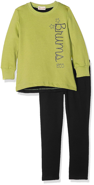 Brums Mädchen Jogginganzug Gelb (Giallo Lime 413) 98 cm 173BGEP006