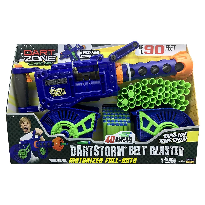 Dart Zone Dartstorm Motorized Belt Blaster ダーツゾーンダーツストーム電動ベルトブラスタ [並行輸入品] B074YDJWM2