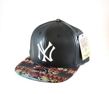 American Needle MLB New York Yankees - Gorra de Piel sintética con ...
