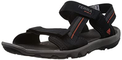 01da35fa1b60 adidas Performance Terra Sports II V22899 Herren Sandalen, Schwarz (Black 1    High Energy