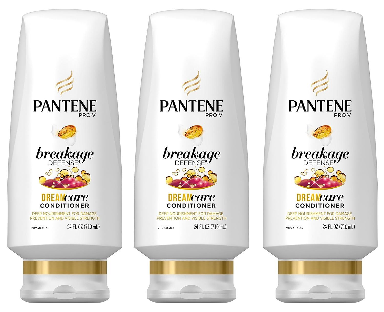 Pantene Breakage Defense Conditioner 24 oz (Pack of 3)
