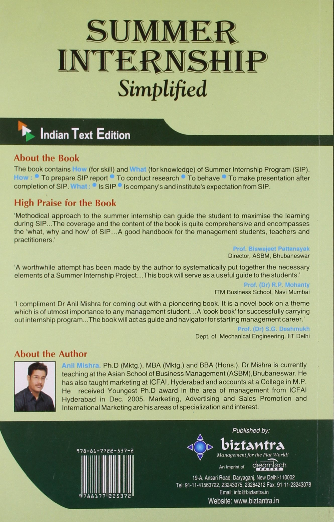 Buy Summer Internship Simplified Book Online at Low Prices