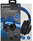 Gioteck - Auricular Flow 400 Wireless Rf, Color Negro/Azul