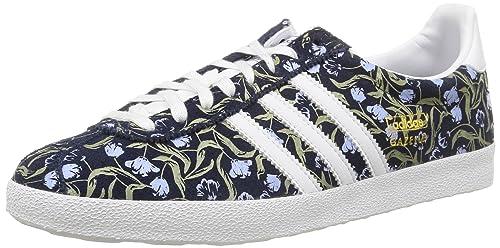 adidas Gazelle OG W - Zapatillas para Mujer, Color Azul Marino/Blanco/Dorado, Talla 43 1/3: Amazon.es: Zapatos y complementos