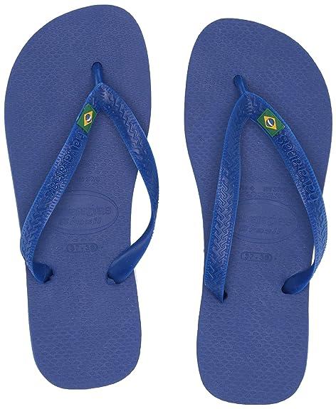 a5ef721ce Havaianas Men s Brasil Logo Thong Flip Flop Rubber Sole  Havaianas ...