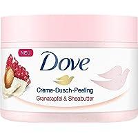 Dove Crème douche peeling 4-pack voor zijdezachte huid granaatappel & sheaboter met rijke textuur (4 x 225 ml)