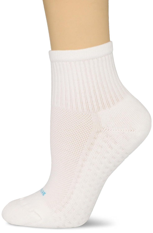 Hue Women's Air Sport 3 Pair Pack Mini Crew Socks Black One-Size U12802