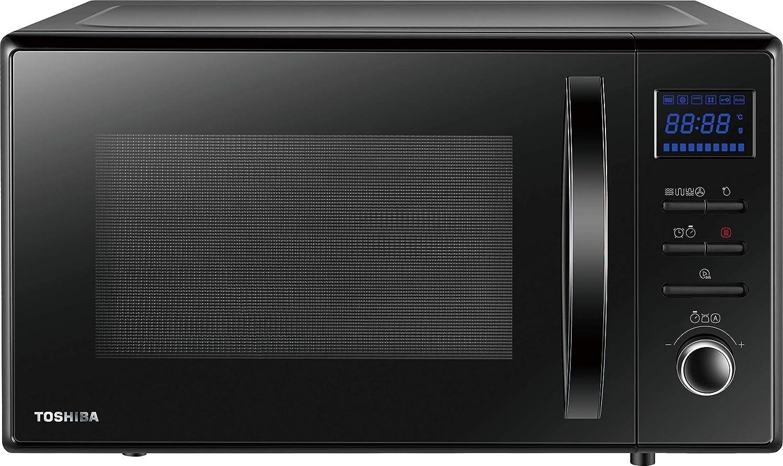 Toshiba MW-AC25T Horno de Microondas 950 W con Convención de 2250 W & Crispy Grill de 1150 W, Cocción Combinada, 25 L