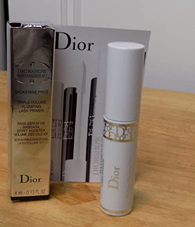 502b78dd7d4 Amazon.com: Dior Diorshow Maximizer 3D Triple Volume Plumping Lash Primer  .13 OZ Travel: Beauty
