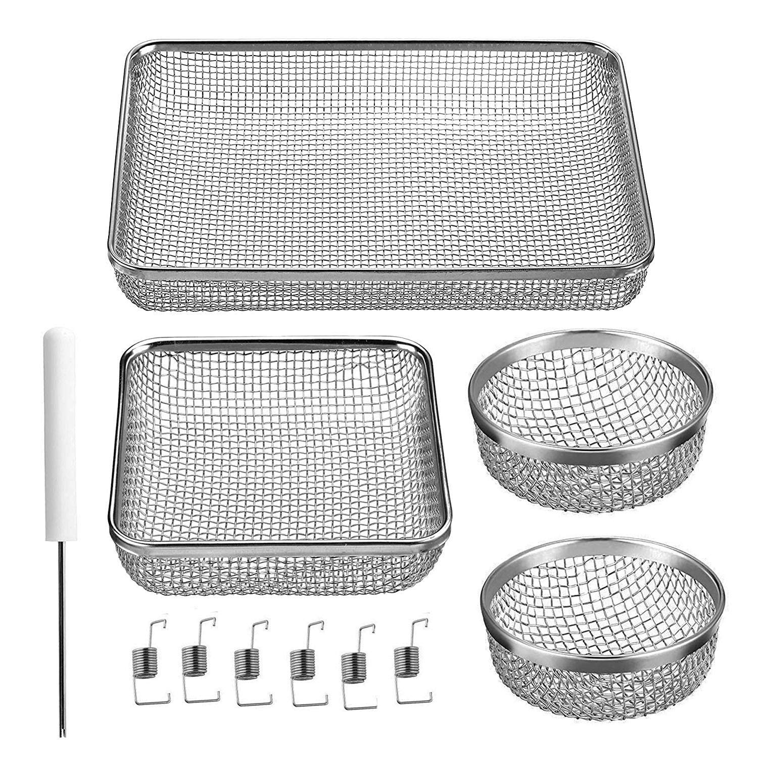RV Furnace Screen for RV Water Heater Vent Cover, RV Bugs Screen,Flying Insect Screen,Stainless Steel Mesh with Installation Tool by Wadoy