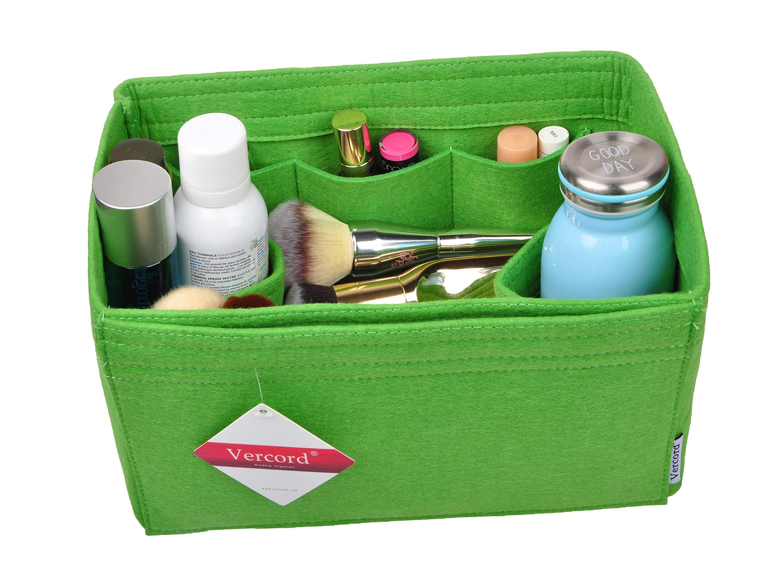 Vercord Purse Organizer Insert Felt Neverful Bag Handbag Tote Organizer In Bag Shaper Liner Green Medium