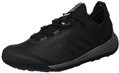 detailed look e8cd7 7b4dc adidas Terrex Swift Solo Walking Shoes - AW18-8 - Black