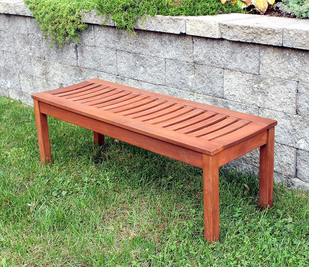Achla Designs Backless Bench, 4-Foot