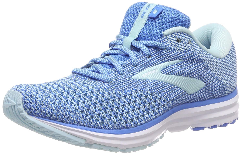 azul (azul Island blanco 406) Brooks Revel 2, Hauszapatos de Running para mujer