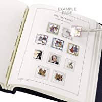 Leuchtturm 341514 SF-Álbum preimpreso España 1976-1989, con cajetín,