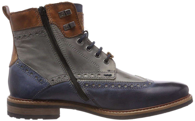 bugatti Herren 311377371111 Blue/ Klassische Stiefel, Mehrfarbig (Dark Blue/ 311377371111 Grey 4115) 1c4a0d