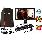 Desktop Hub® Assembled Desktop Computer Core to Due 2.9 Ghz Processor, G31 Motherboard, USB Keyboard Mouse, Windows 7 (Trial) & Microsoft Office (Trial) Installed (RAM 4GB/HD 500GB, Intex412)