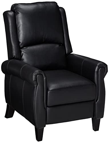 Christopher Knight Home Lloyd Black Leather Recliner Club Chair