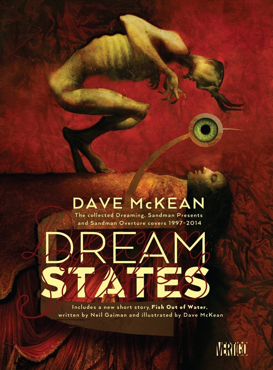 Dream States: The Collected Dreaming, Sandman Presents and Overture Covers 1997-2014