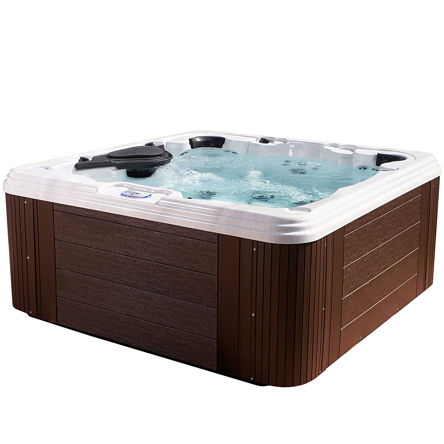 Amazon.com : Essential Hot Tubs - Civility - 60 Jets, Acrylic Hot ...