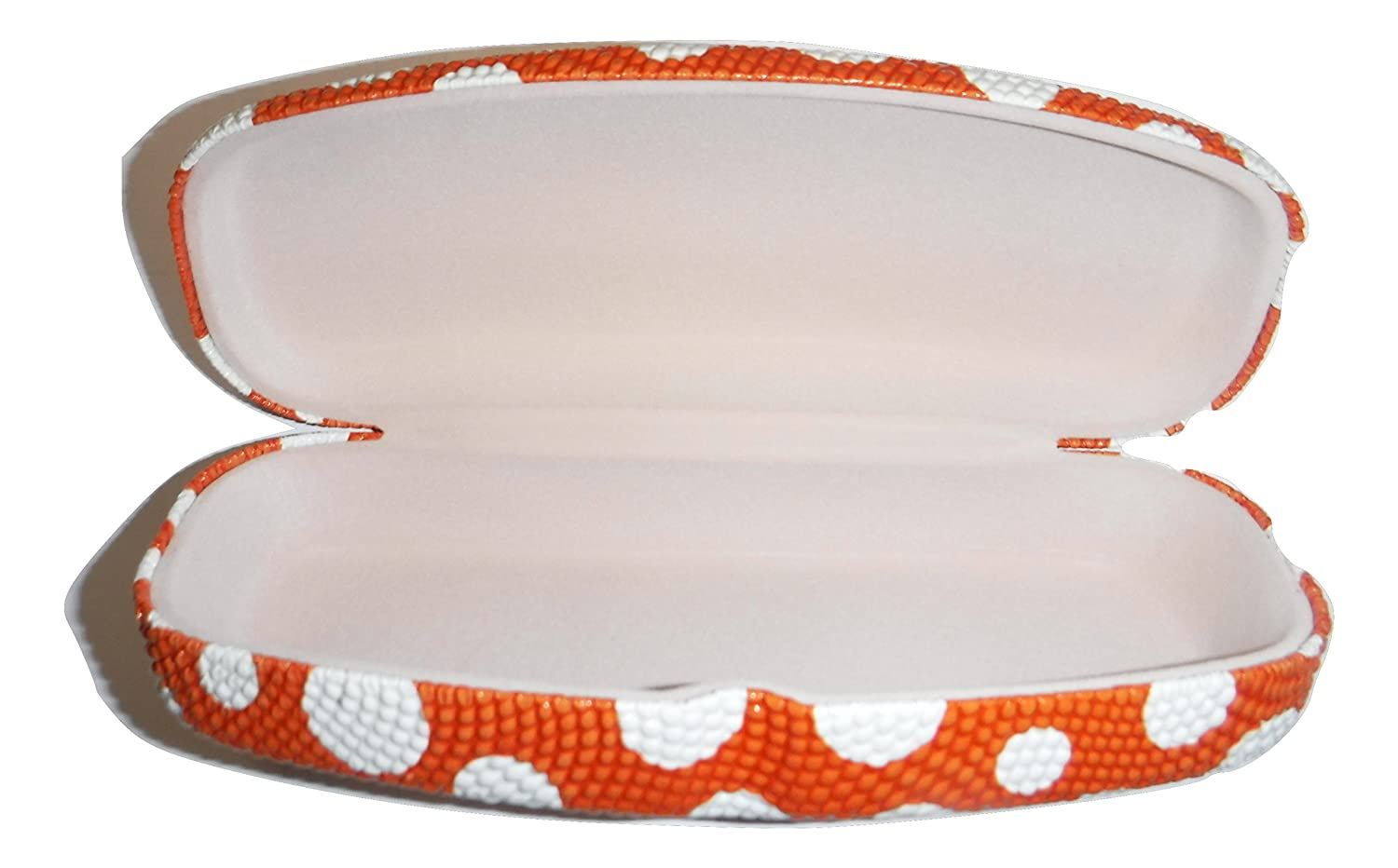 Sure Grip Rubber dimpled polka-dot EyeGlass case Yellow