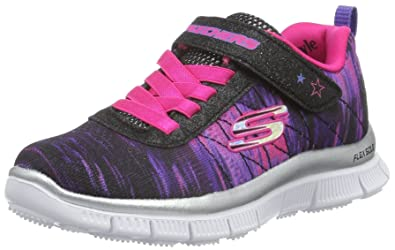 Skechers Girls' Skech Appeal Pesky Pal Sneaker,Neon/Pink/Multi,US 12.5 M