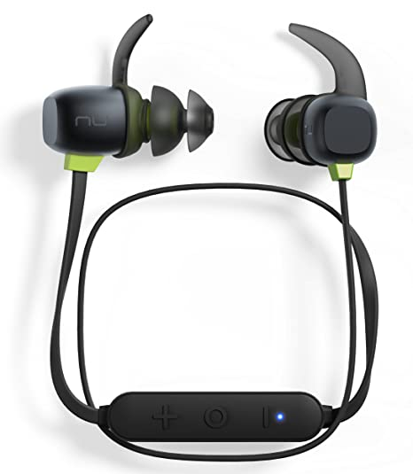 Optoma NuForce BE Sport4 Premium Wireless Sport earphones with mic and 10h  battery, sweat proof, AAC + aptX, Quick Charge, Graphene drivers,