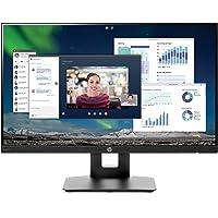 HP Monitor FHD IPS DE 23.8 Pulgadas con Ajuste de inclinación/Altura y Altavoces Integrados (vh240a, Negro)