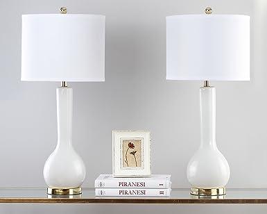 De Tablelot Eul4091a 2Céramique Lampe Set2 Lucia Safavieh SqUpzMGV