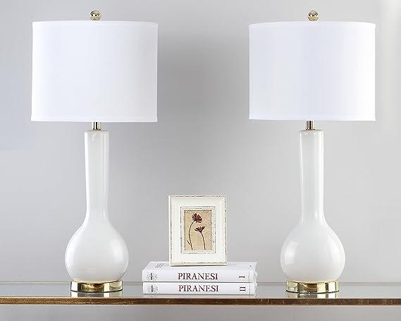 Safavieh eul4091 a-set2 Lucia - Juego de 2 lámparas de mesa ...