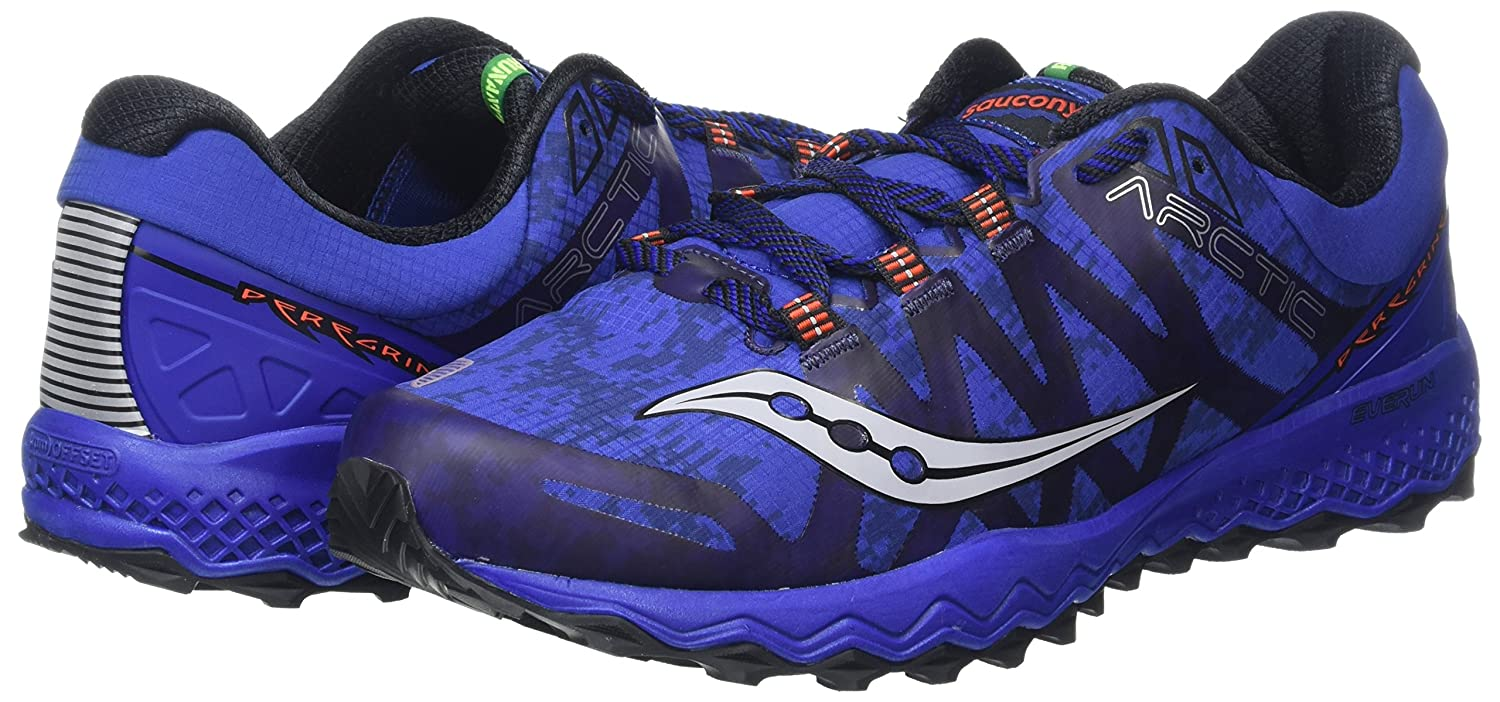 Saucony Mens Peregrine 7 Arctic Trail Running Shoes