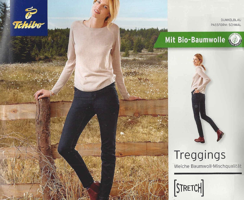 neues Konzept akribische Färbeprozesse wie man kauft Tchibo TCM Damen Jeggings Treggings Hose Jeans Röhre Stretch ...