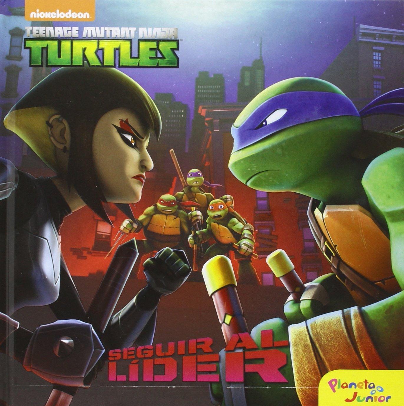 Las Tortugas Ninja. Seguir al lÃder: Cuento: Las Tortugas ...