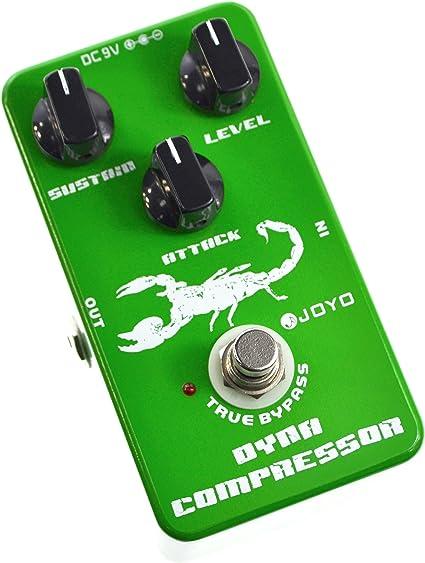 Joyo JF-10 - Pedal de efecto compresión para guitarra (batería ...