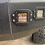 Rigid Industries 49010 Dually Side Angled FM Kit