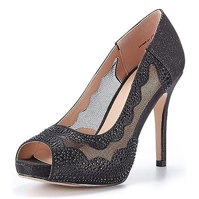 DREAM PAIRS Women's Divine-01 High Heels Dress Pump Shoes | Pumps