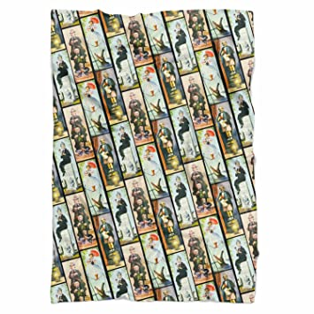 Amazon Haunted Mansion Stretch Paintings Fleece Blanket Small Simple Haunted Mansion Throw Blanket