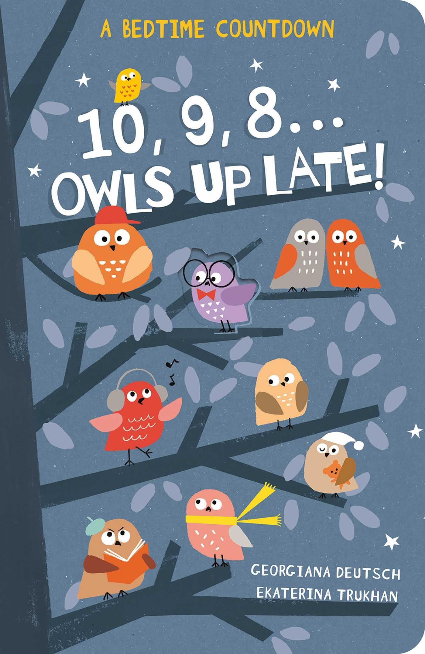 Download 10, 9, 8.Owls Up Late! PDF