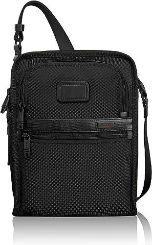 TUMI – Alpha 2 Organizer Travel Tote – Satchel Crossbody Bag for Men and Women – Black