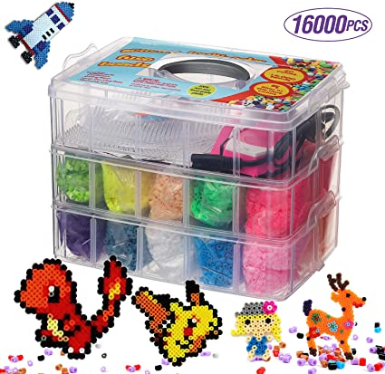Hama 12000 Beads /& Pegboard Storage Box NEW