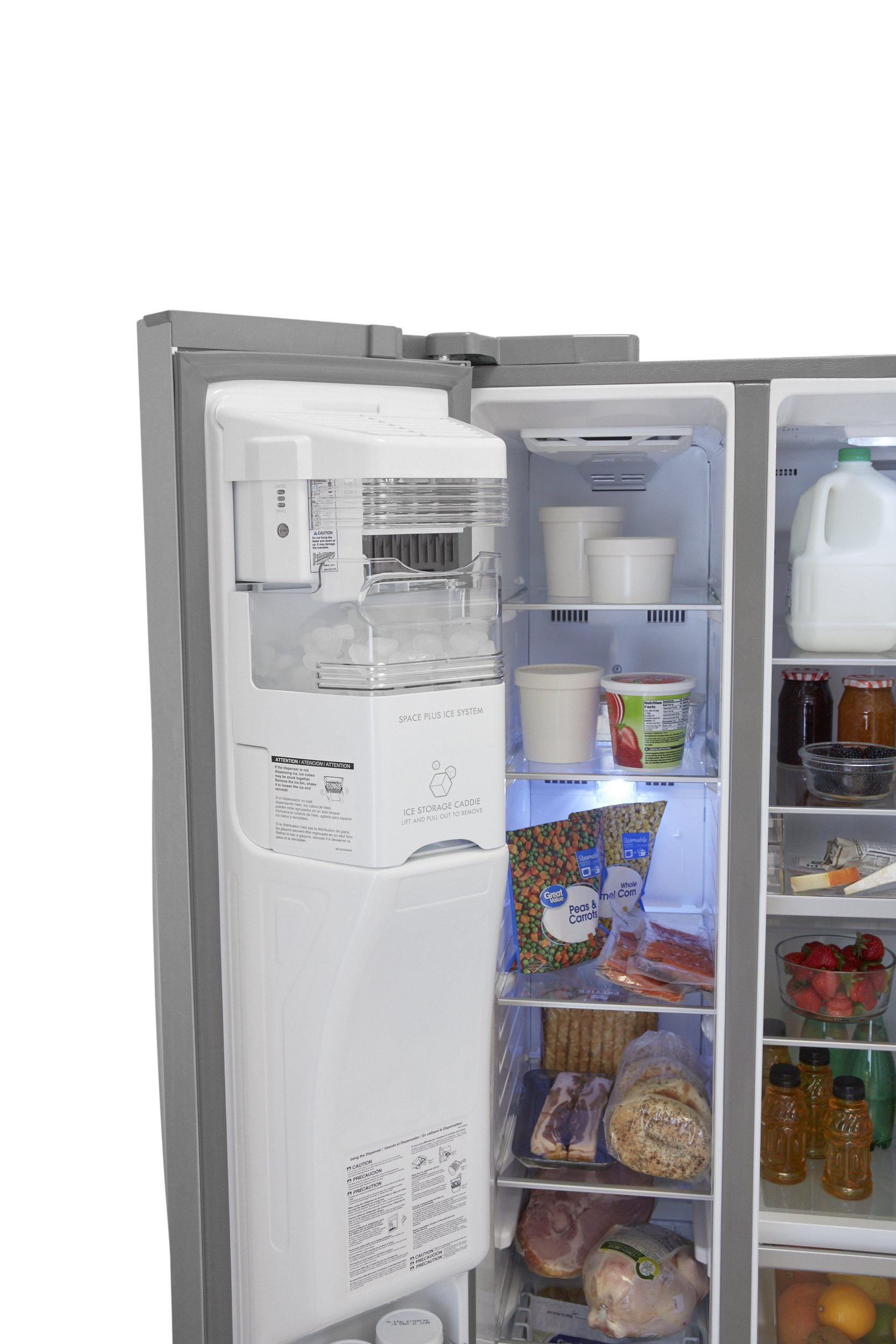 Kenmore Elite 51823 21.9 cu. ft. Side-by-Side Refrigerator in Stainless Steel, includes delivery and hookup (Available in select cities only) by Kenmore (Image #8)