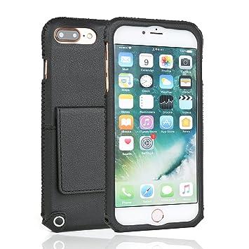 Iphone 7 Plus Hülle Coodio Premium Ledertasche Amazon De
