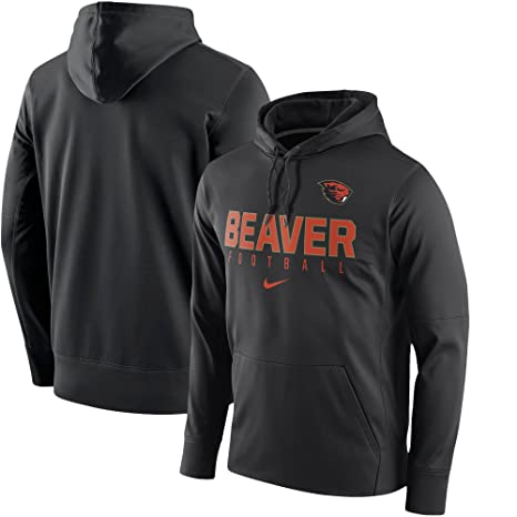 e978a4e82b37 Image Unavailable. Image not available for. Color  NIKE Oregon State  Beavers Football Circuit Pullover Hoodie ...